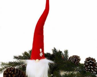 Christmas Gnome | Tomte Nisse Medium | Scandinavian Gnome | Vintage Style Tomte Nisse | Swedish Tomte | Swedish Gnome | Christmas Decoration