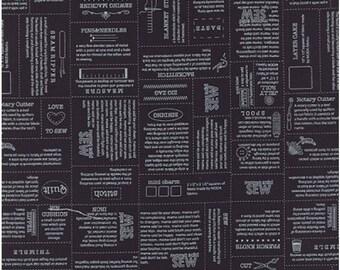 Mama Said Sew Volume II 5610-14 Black Define by Moda