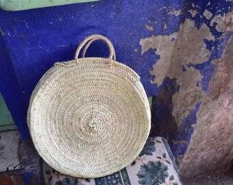 Beautiful palm basket