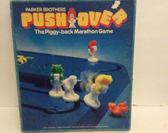 1981 Parker Brothers Push Over The Piggy Back Marathon Game