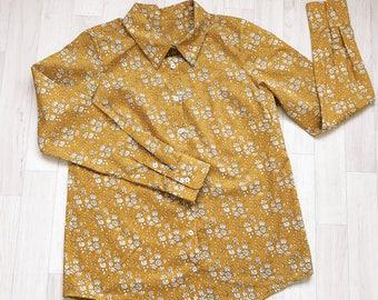 IRIS Ladies Liberty Print Shirt/Blouse Long Sleeve