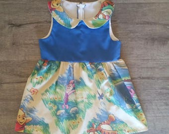 Winnie the Pooh Peter Pan Collar Dress