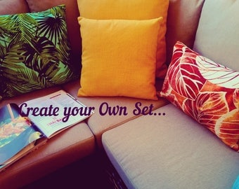 Create your Own Set - Indoor Outdoor Pillow Cover