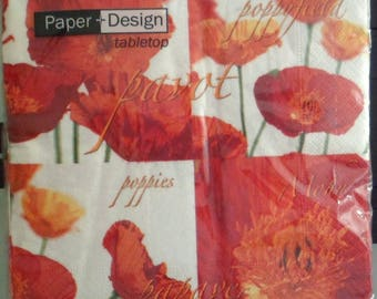 Package of paper towels brand Paper Poppy Design dream