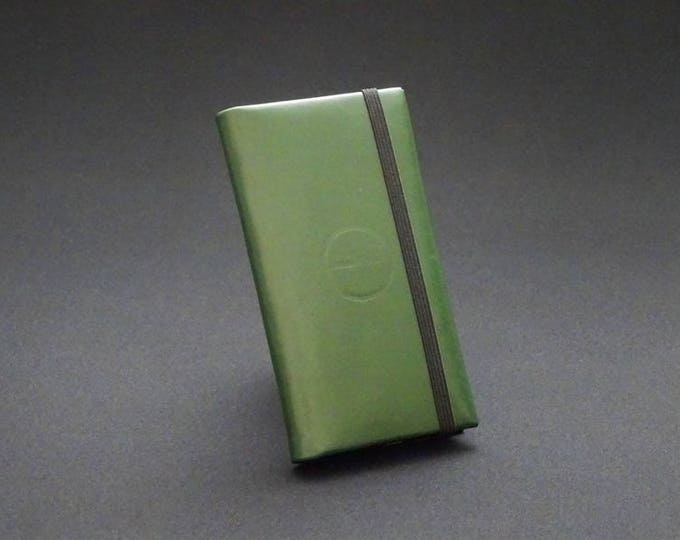 Apple Smartfold6 Phone Wallet - Green - Fits Apple iPhone 4 5 5S 5SE 5C 6 6S 7 8 - Made in Australia with Australian leather.