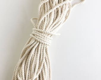 COTTON ROPE 3/16 (5mm) 100ft Bundle