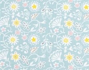Blue roman blind | Floral print roman shade | Country cottage look roman shade  | Window shade | roman shade | custom window furnishing