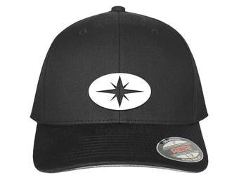 Polaris ZRZ Logo Hat Premium Flex Fit Hat Round Bill Free Shipping