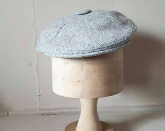Grey Golf Cap