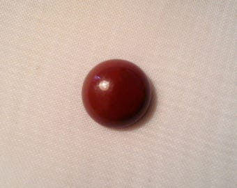 Natural 12 mm agate round Cabochon. -20 822
