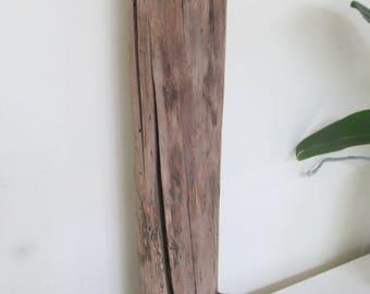 Driftwood Log Beach Decor Driftwood Art - Thick Driftwood Piece Lamp Base Drift Wood Home Decor