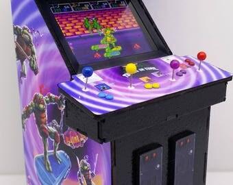 BURGER TIME Miniature Arcade Machine Model 1/12th Scale mini