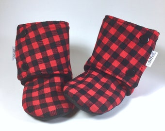 READY TO GO 18-24 months - Little Stay-on Booties - Soft Sole - For babies, kids and toddlers - Soft and warm
