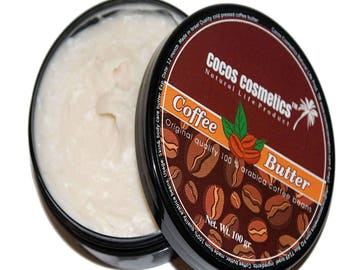 Mothers Day gift / Coffee Butter / Coffee Bean Butter / Anti Cellulite Coffee Butter /