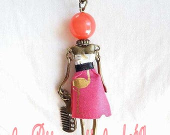 """Necklace """"I am Doll"""""""