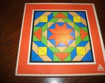 TOIA  Puzzle Wood Puzzle Game Mosaic  70 Vintage