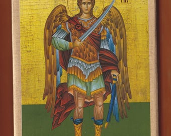 St Archangel Michael (full body). FREE SHIPPING