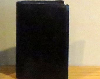 Spring Sale Coach Passport Cover In Black Leather - Style No 5823 - VGC