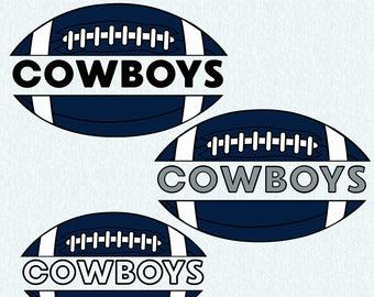 Dallas cowboys SVG,DXF,studio file,clipart,vector, dallas cowboys cut file, football svg, cut file, cricut, silhouette cameo