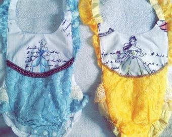 Beautiful princess lace romper!!
