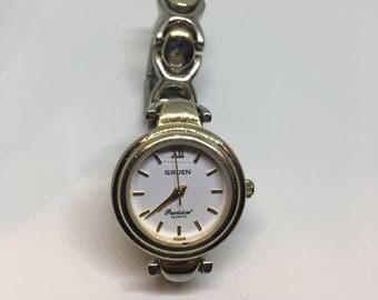 Vintage Gruen Precision Watch NEW BATTERY!
