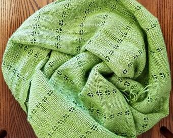 Granny smith woven wrap - FREE SHIPPING