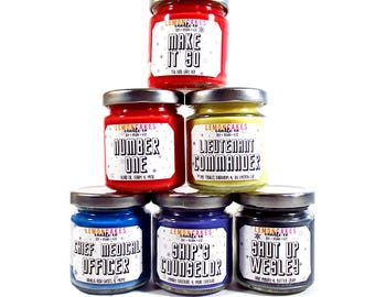 Limited Edition - Assemble Your Crew - 4oz Soy Candles - Lemoncakes Candle Co - Variety Pack