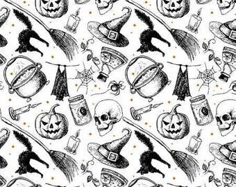 halloween fabric halloween words halloween sayings fabric fabric with words word fabric