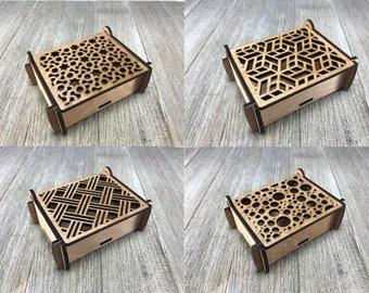 Laser cut puzzle box 5,6,7,8