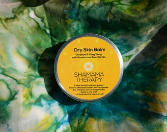 DRY SKIN BALM - Body Balm - Hand Balm - Lip Balm - Vegan Balm - Eczema Balm - Psorisis Balm - Dry Skin Relief - Organic Skincare
