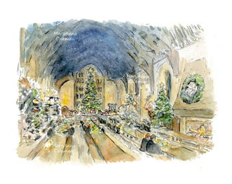 Harry Potter - Great Hall at Christmas
