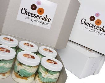 Cheesecake Cupcakes In a Jar - 6