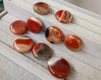 Beautiful Agate Tumbled Stone Slice,Energy Healing,Chakra Stones,Reiki Stones