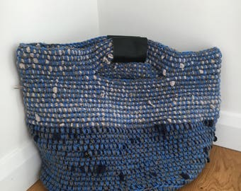 Recycled crochet Handbag / Bag / Tote / Haldall