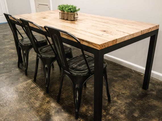 SALE! Ambrosia Maple Parson's Style Dining Table