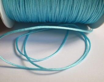 10 m blue nylon thread woven 0.8 mm