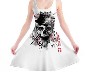 RipToRn Logo Skater Dress