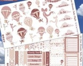 RETIRING SALE! 75% OFF | Let Your Dreams Take Flight Planner Layout Stickers