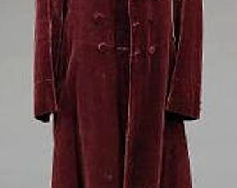 Custom Doctor Who Frock Coat