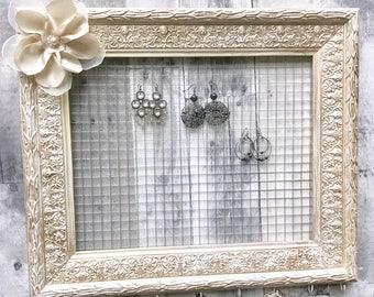 Jewelry Organizer Frame