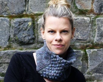 Crochet Pattern - crochet cowl pattern, crochet neck warmer, crochet snood, crochet accessories, crochet for winter, one skein crochet