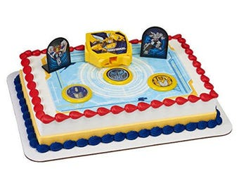 Transformers Autobot Battle Cake Topper