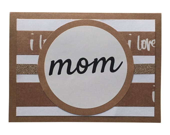 Mother's Day Card, Birthday Card for Mom, Blank Card for Mom