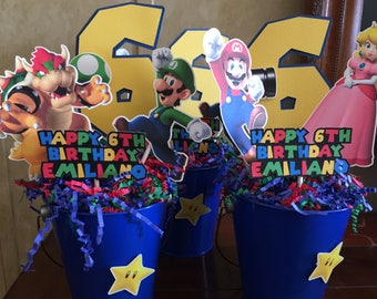 Mario Bros centerpiece