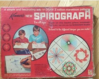 O Canada Sale Vintage 1967 Kenner's Original Spirograph #401