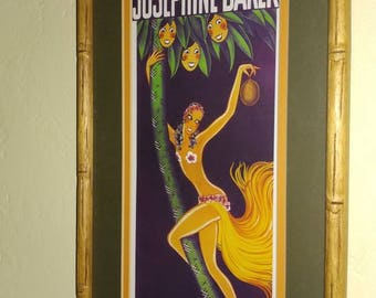 Josphine Baker Print Framed