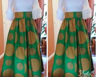 African clothing / Maxi Skirt for women