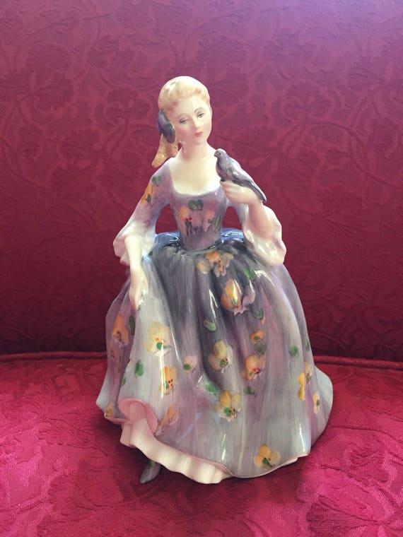 FREE SHIPPING -Royal Doulton-1977-Nicola-Lady Figurine