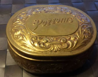 Vintage Pozzoni's Powder Tin