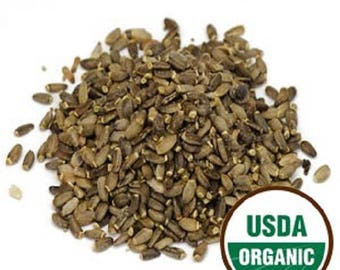 Milk Thistle Seed Whole, Organic 1 lb POUND